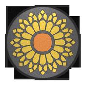 Rosette Badge
