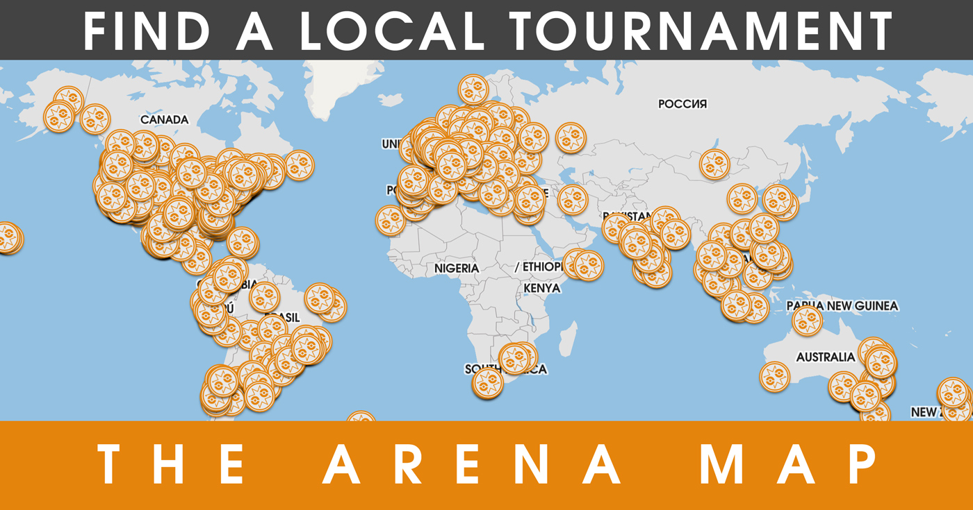 Map of Upcoming Pokemon GO Tournaments